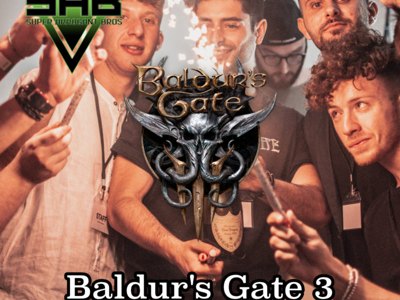 Super Arrogant Bros: Baldur's Gate 3 Early Access REVIEW